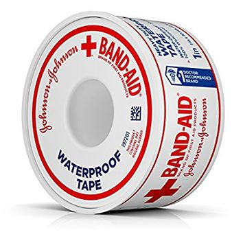 "Band-Aid Brand Of First Aid Products Waterproof Tape, 1"" x 10 yd."