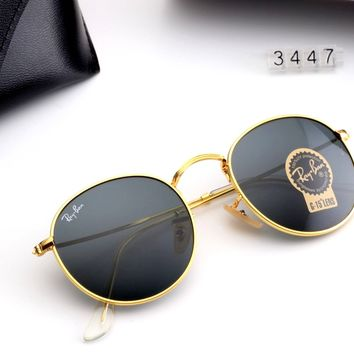 zFree Shipping-Ray-Ban men and women personality versatile driving color film polarized sunglasses
