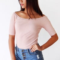 Melissa Shoulder Top