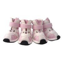 GOGO Adorable Dog Sneaker, Dog Shoes, Durable Boot For Dog, Pink S / M / L, Dogs Costume S