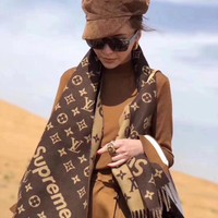 Perfect LV Women Fashion Accessories Sunscreen Cape Scarves Silk Scarf LV shawl q_1689347108