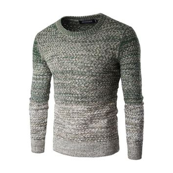 Men Clothing 2016 O-Neck Cashmere Wool Sweater Blended Pullover Mens Sweaters Male Knitted Sweater Pullovers 024