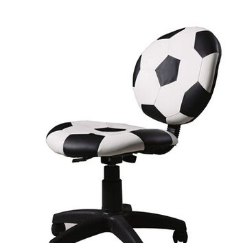 Acme 59080 Maya collection soccer ball office secretary chair with casters