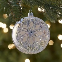 European Glass Snowflake Ornament$11.96$14.95
