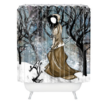 Amy Smith Winter 1 Shower Curtain