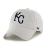 Kansas City Royals Clean Up White '47 Adjustable Hat