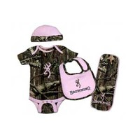 Browning Jr Baby Camo 4 Piece Set