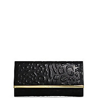 Jimmy Choo - Maia Leopard-Embossed Clutch - Saks Fifth Avenue Mobile