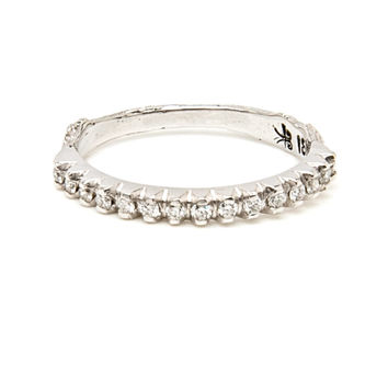 Diamond Twig Ring