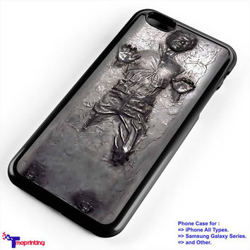 Han Solo Carbonite Star Wars - Personalized iPhone 7 Case, iPhone 6/6S Plus, 5 5S SE, 7S Plus, Samsung Galaxy S5 S6 S7 S8 Case, and Other