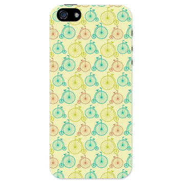Vintage Circus Cycle Pattern iPhone 5 / 5S Case
