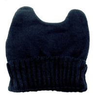 Adorable Adult Grunge Chic Cat Ear Beanie