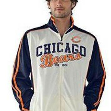 Chicago Bears Adult Post Route Track Jacket