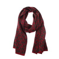 MICHAEL Michael Kors Womens Knit Pattern Rectangled Scarf