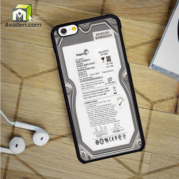 Hard Drive without Casing iPhone 6 case by Avallen