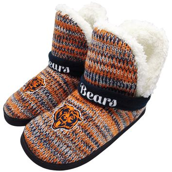 Chicago Bears Official NFL Wordmark Peak Boot - Womens