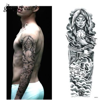 Full Sleeve Temporary Tattoos