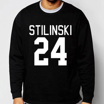 Stiles Stilinski No.24 Teen Wolf hoodies men 2017 spring winter men sweatshirt hip hop style streetwear tracksuit brand clothing