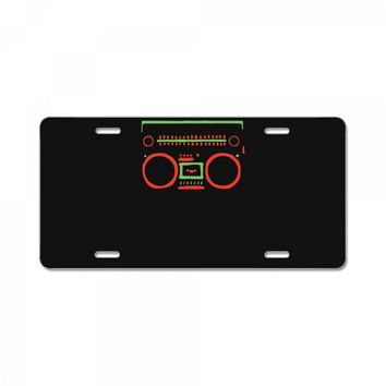 a tribe called quest   speaker hip hop the cutting edge License Plate