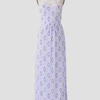Open Mind Printed Maxi Dress