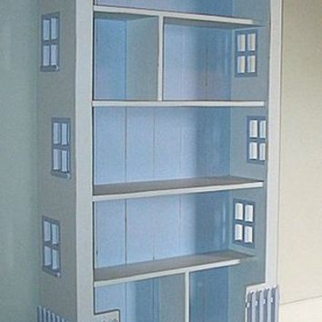 Large Dollhouse Bookcase by Bradshaw Kirchofer, Bookshelves, Furniture for Girls