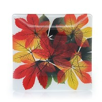 Brilliant Leaves : Candle Tray : Yankee Candle