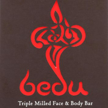 Bedu Face And Body Bar - Sandalwood And Saffron - Case Of 6 - 4 Oz.
