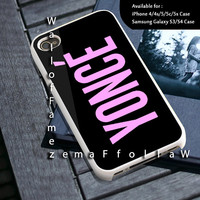 Beyonce Yonce Design for iPhone 4/4s, iPhone 5/5s/5c, Samsung Galaxy S3/S4 Case