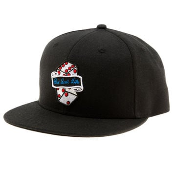 BET YOUR LIFE SNAPBACK BLACK
