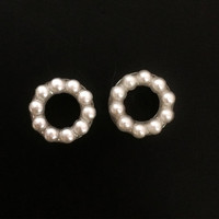 Pearl plugs / 0g, 00g, 1/2 inch, 9/16 inch, 5/8 inch / wedding plugs / pearl gauges / stainless steel plugs / pearl body jewelry