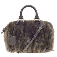Louis Vuitton Speedy Limited Edition Caresse Mink 25