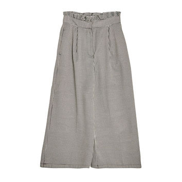 Houndstooth culottes - Trousers - Clothing - Woman - PULL&BEAR United Kingdom