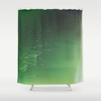 Field of Green Shower Curtain by Ducky B