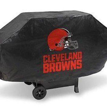 Cleveland Browns NFL DELUXE Heavy Duty BBQ Barbeque Grill Cover