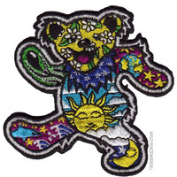 Grateful Dead - Day/Night Bear Patch on Sale for $4.99 at HippieShop.com