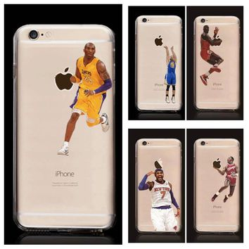 James Harden Michael Jordan Lebron phone cases for iphone 6 6Plus