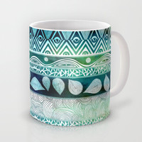Dreamy Tribal Part VIII Mug by Pom Graphic Design