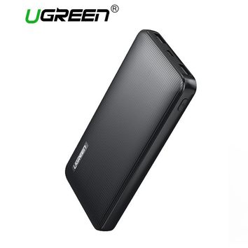 Ugreen 10000mah Power Bank External Battery Powerbank with Micro USB Charger Cable for Mobile Phones Tablets Portable Power Bank