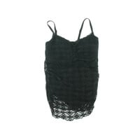 Becca by Rebecca Virtue Womens Plus Crochet Padded Swimdress