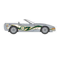 Top Dog 1:64 Chevy Corvette - MLB Oakland Athletics