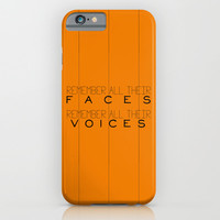 Remember - Orange is the New Black iPhone & iPod Case by Kirstenariel