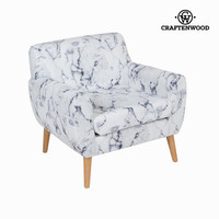 Marble armchair by Craftenwood