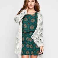 POOF EXCELLENCE Womens Open Weave Wrap 249207422 | Cardigans & Wraps