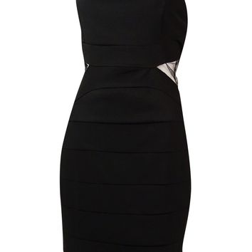 Ruby Rox Juniors' Illusion Strapless Bodycon Dress