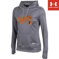 Baltimore Orioles Women's French Terry Pullover Hood by Under Armour® - MLB.com Shop