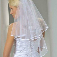 One-Layer Bride Wedding Bridal Veil