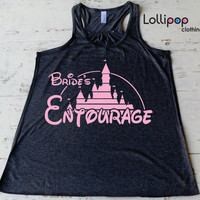 Brides  entourage  tank. Future Mrs. bridal shower.wedding gift.bride shirt. Bachelorette party. Disney. Funny top. Fairy tail wedding