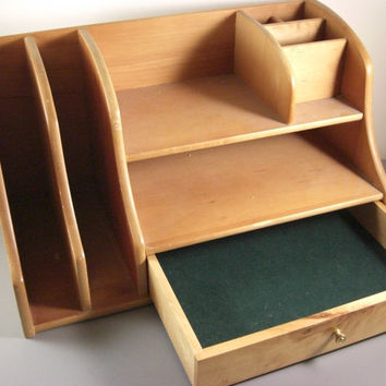 Best desk drawer organizer products on wanelo - Wooden desk organizer with drawers ...
