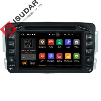 Two Din Android 7.1.1! 7 Inch Car DVD Player For Mercedes/Benz/W209/W203/W168/M/ML/W163/Viano/W639/Vito/Vaneo Wifi GPS FM Radio