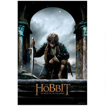 The Hobbit: The Battle of the Five Armies Bilbo Theatrical Poster | WBshop.com | Warner Bros.